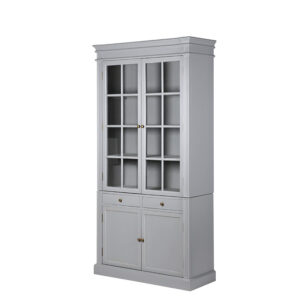 Fairmont grey bookcase